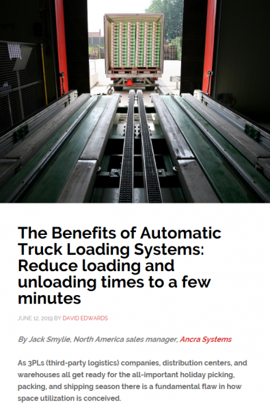 THE BENEFITS OF AUTOMATIC TRUCK LOADING SYSTEMS: REDUCE LOADING AND UNLOADING TIMES TO A FEW MINUTES